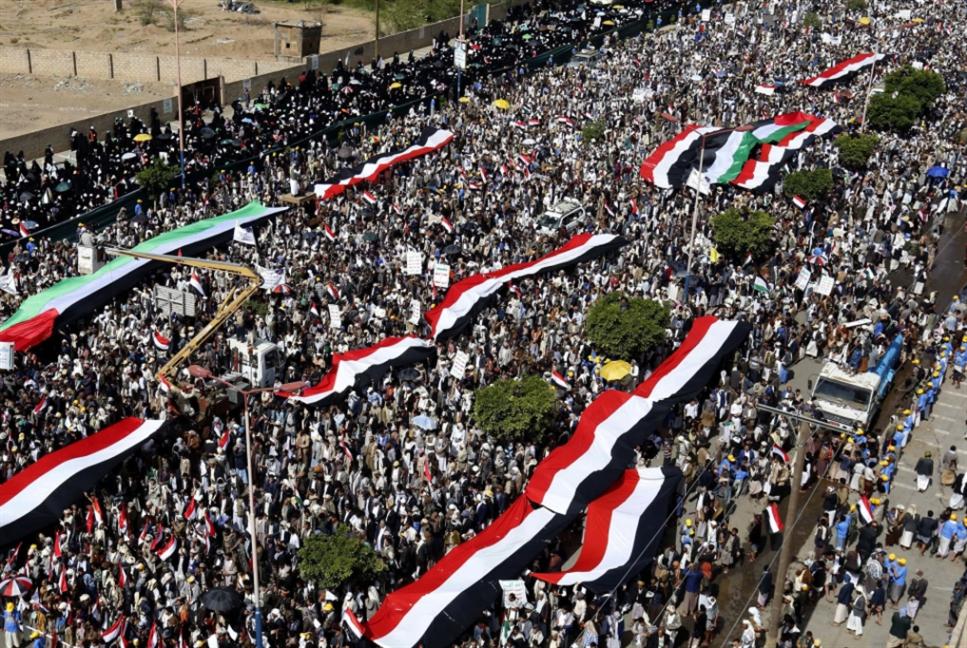 مسيرات حاشدة في إيران واليمن وسوريا والعراق