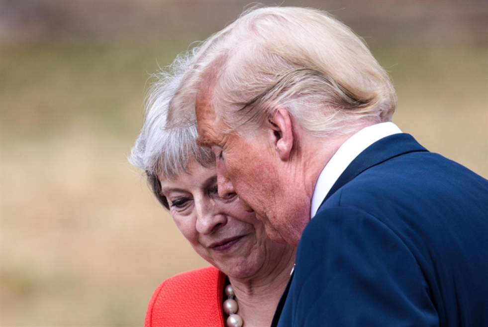 ترامب يستغل جولته الأوروبية: لتصعيد الضغوط على إيران