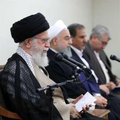 خامنئي داعِماً حكومة روحاني: ستُفشل المؤامرات الأميركية