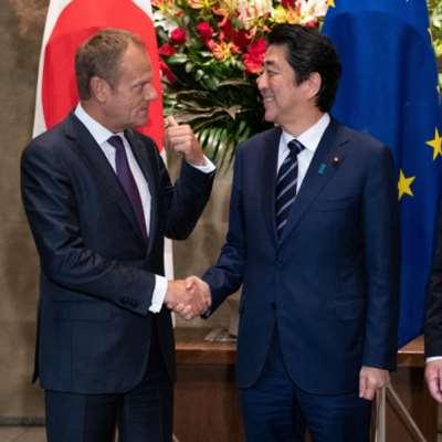 اتفاق أوروبي ــ ياباني «تاريخي» لمواجهة ترامب