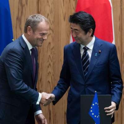 الأوروبيون يحطّون في طوكيو: اتفاق تجارة حرّة... ضدّ «الحمائية»