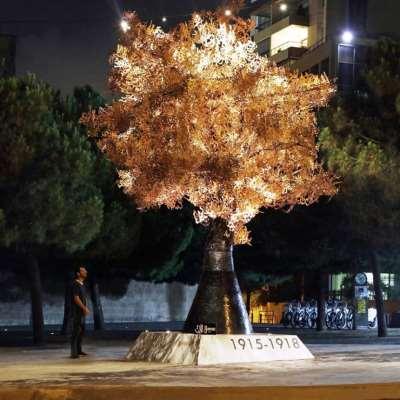 يزن حلواني يزرع «شجرة الذاكرة»