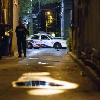 قتيلان و13 جريحاً بإطلاق نار في تورونتو