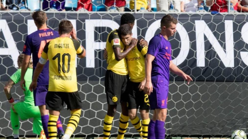 صورة دورتموند يفوز بثلاثية على ليفربول