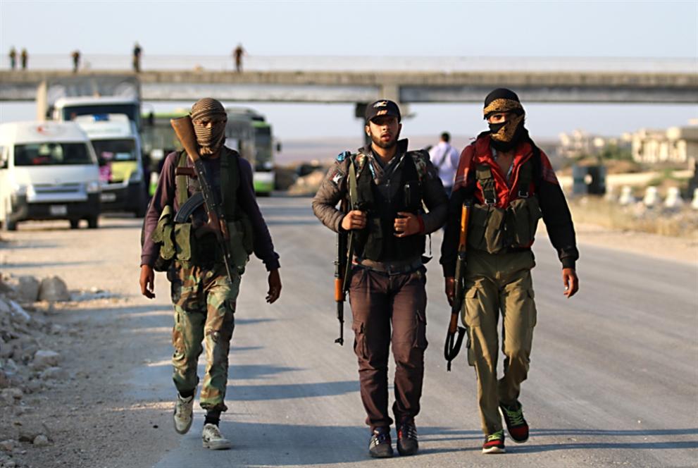 معارك وادي اليرموك انطلقت