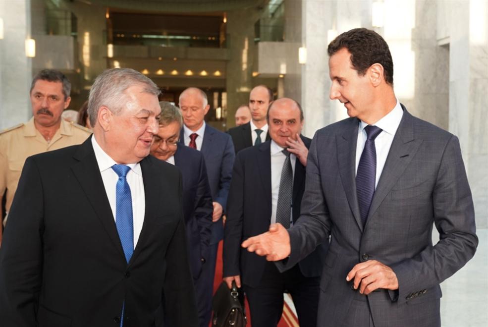 حراك روسي بين دمشق ودول الجوار