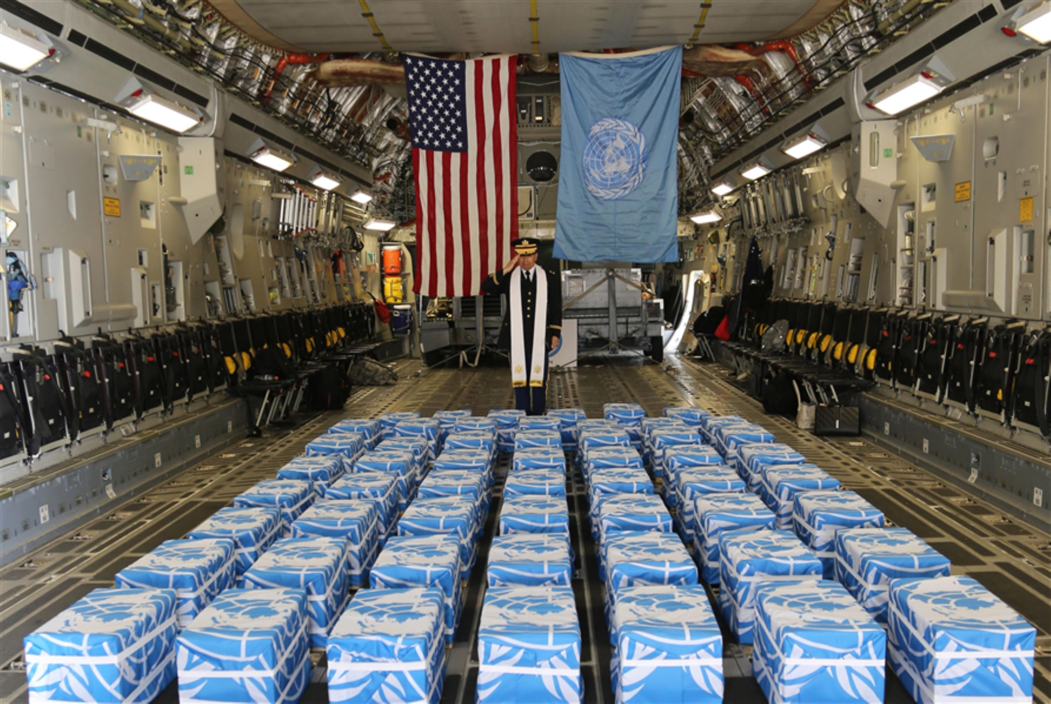 ترامب: شكراً كيم... أعدتَ رفات جنودنا!