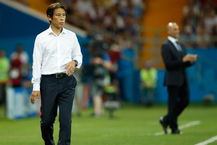 مدرب اليابان يتحمّل المسؤولية