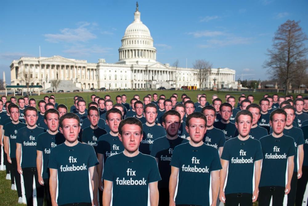 «فايسبوك» تغلق حسابات وصفحات «مشبوهة»