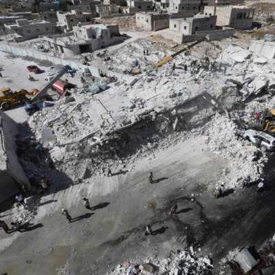 إدلب | عشرات القتلى في انفجار مستودع ذخيرة