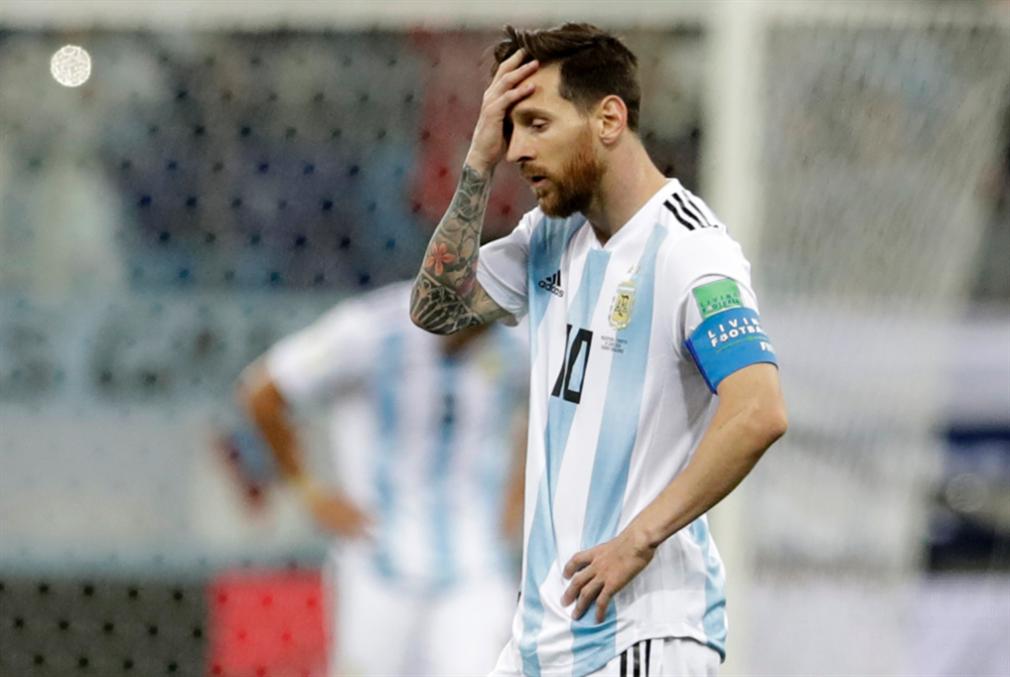 ميسي لن يلعب مع الأرجنتين
