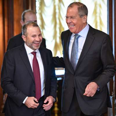 باسيل: مهتمّون بنجاح المبادرة الروسية لعودة النازحين