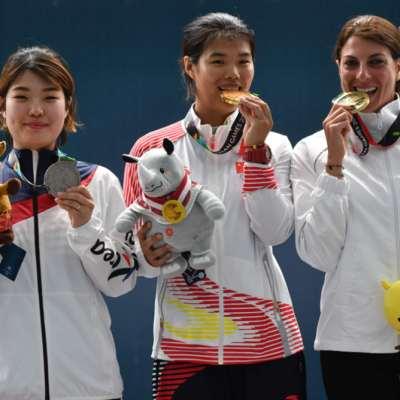 ثلاث ميداليات للبنان في دورة الألعاب الآسيوية