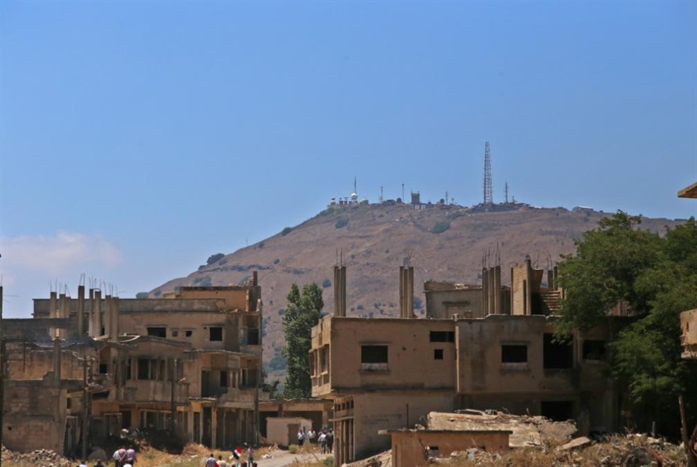 هدف معادٍ غرب دمشق!