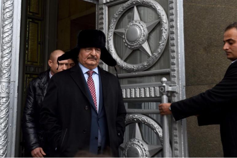 حفتر يغازل روسيا: اعتبرونا سوريا!