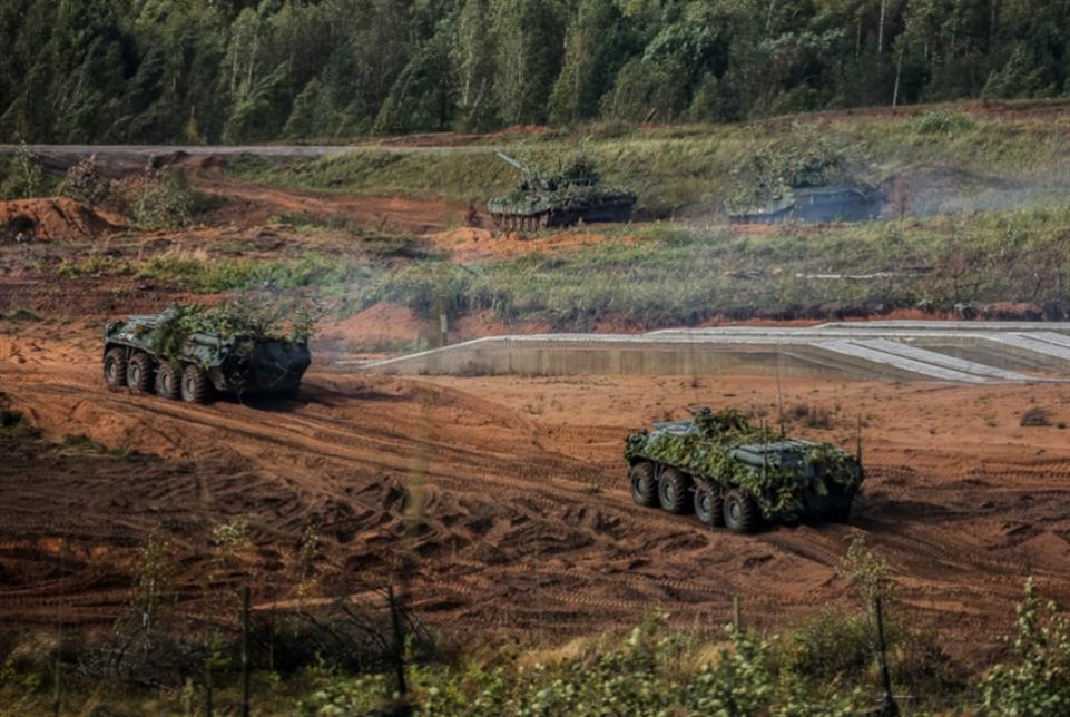 استعراض روسي ضخم للقوّة العسكرية