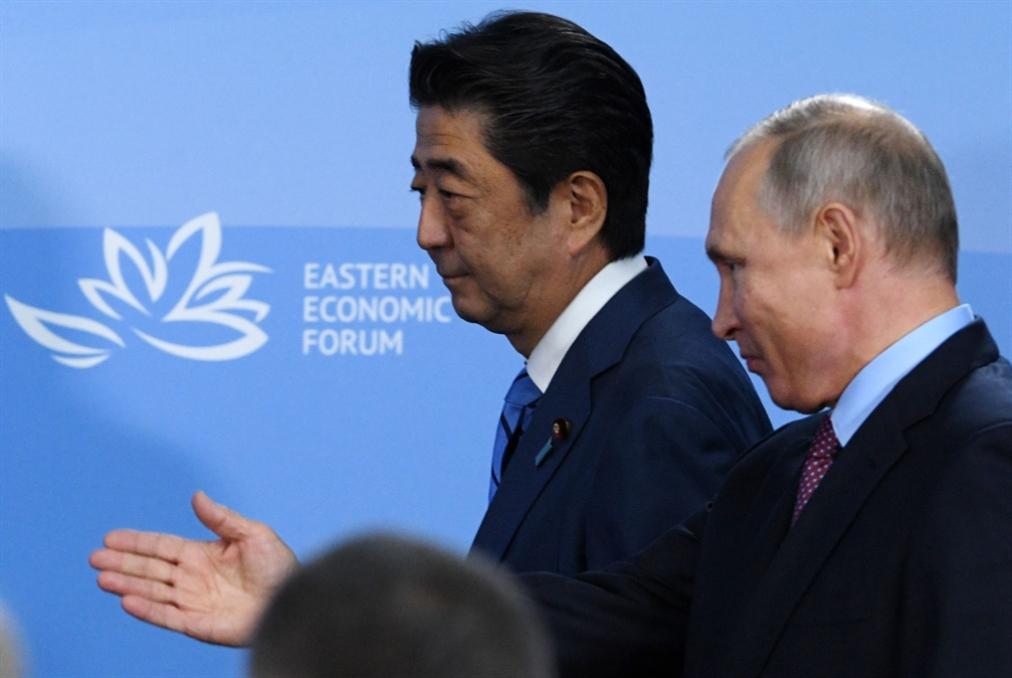 لقاء بوتين ـــ شينزو: سعي إلى اتفاق سلام... وتنشيط التجارة