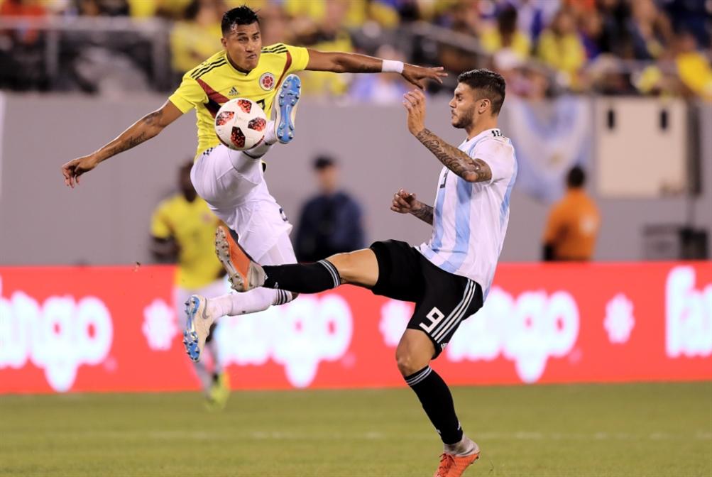 الأرجنتين تتعادل مع كولومبيا في ظل غياب ميسي
