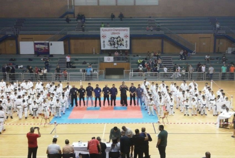 اختتام بطولة لبنان لفرق الصغار في الكيوكوشنكاي