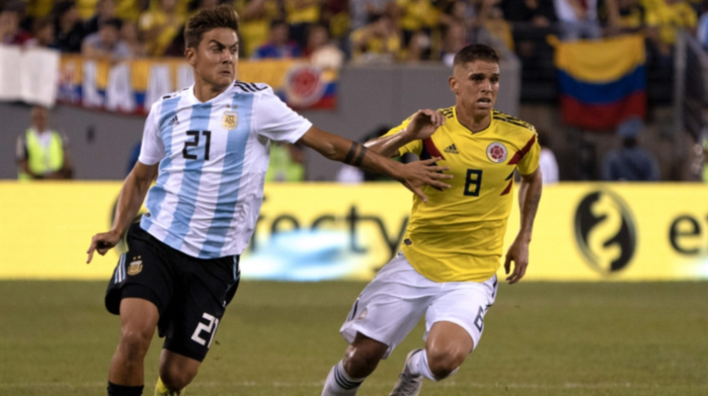 صورة الأرجنتين تتعادل مع كولومبيا في ظل غياب ميسي