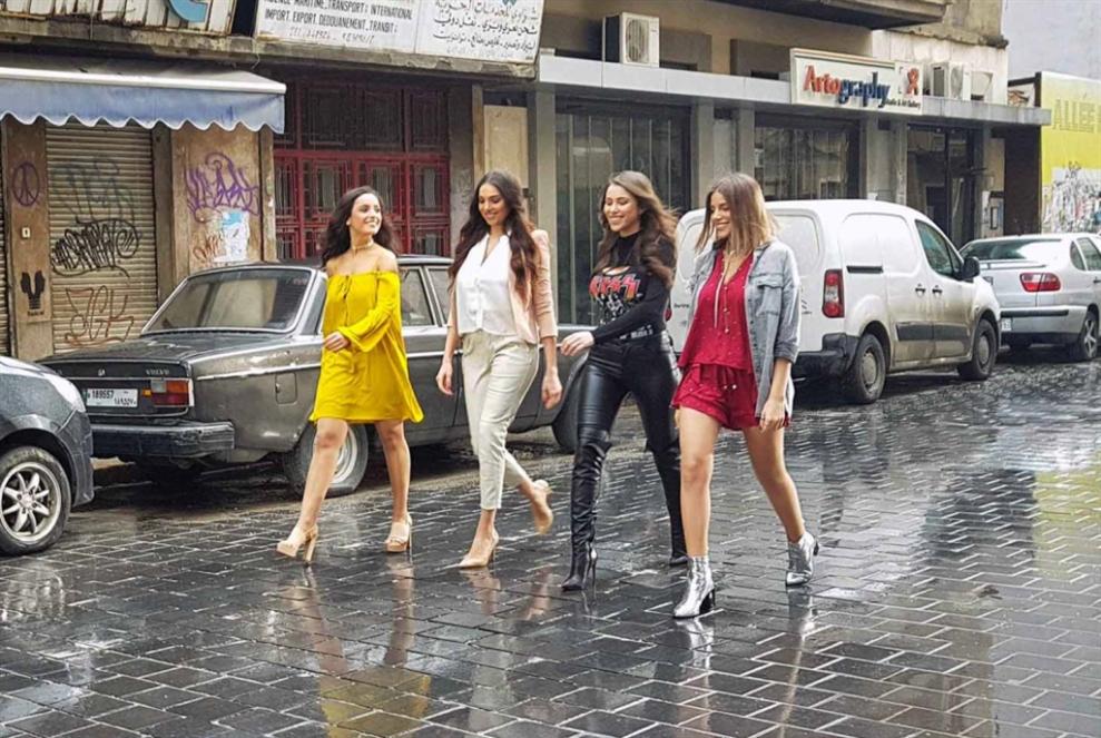 مسلسل لبناني يجذب بالصورة: أربع بنات وبس في «بيروت سيتي»