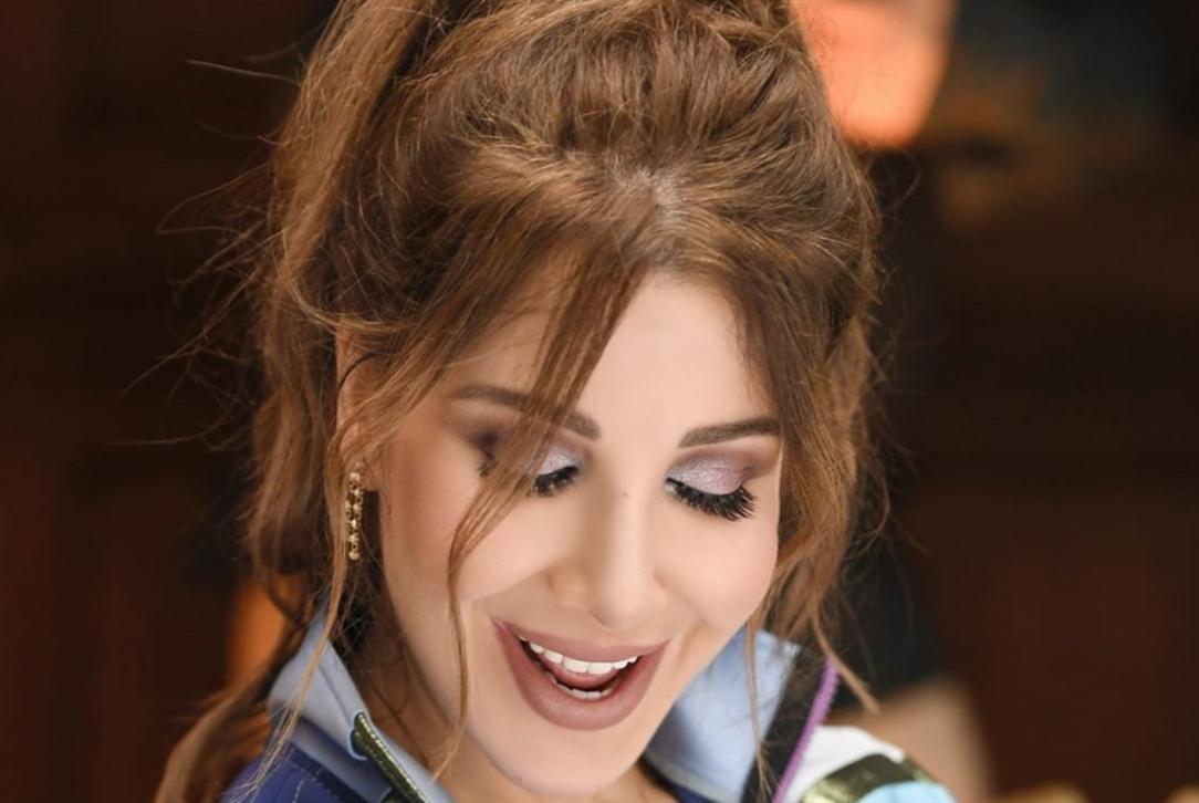 نانسي عجرم ضمن لجنة miss lebanon