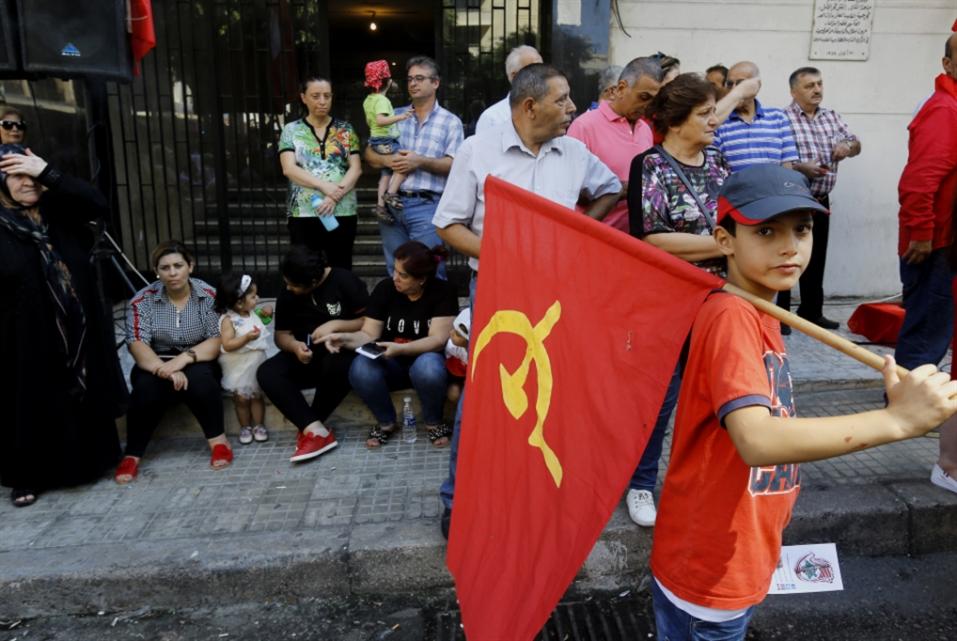 «الشيوعي» يحتفل بـ«جمّول»: إلى السلاح
