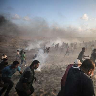 شهيدان في غارة إسرائيلية شرق خانيونس