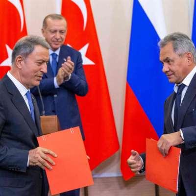 اتفاق روسي ـــ تركي على نزع سلاح التنظيمات الإرهابية