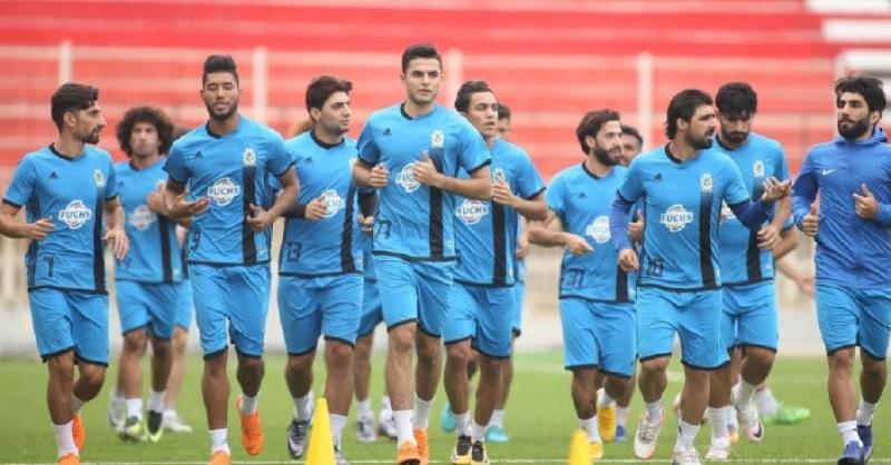 انسحب الفريق العراقي من المباراة