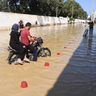 فيضانات تونس ترفع الوفيّات إلى خمس