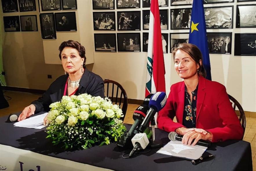 المسرح اللبناني ــ الأوروبي في ربوع نضال الأشقر