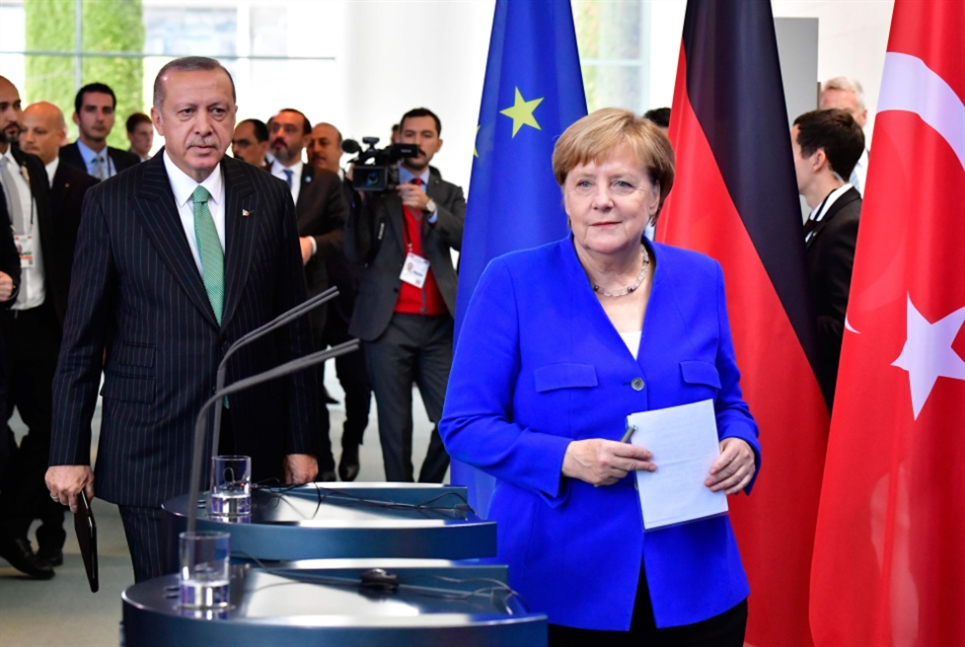 لقاء ميركل – أردوغان تعكِّره حريّة الصحافة