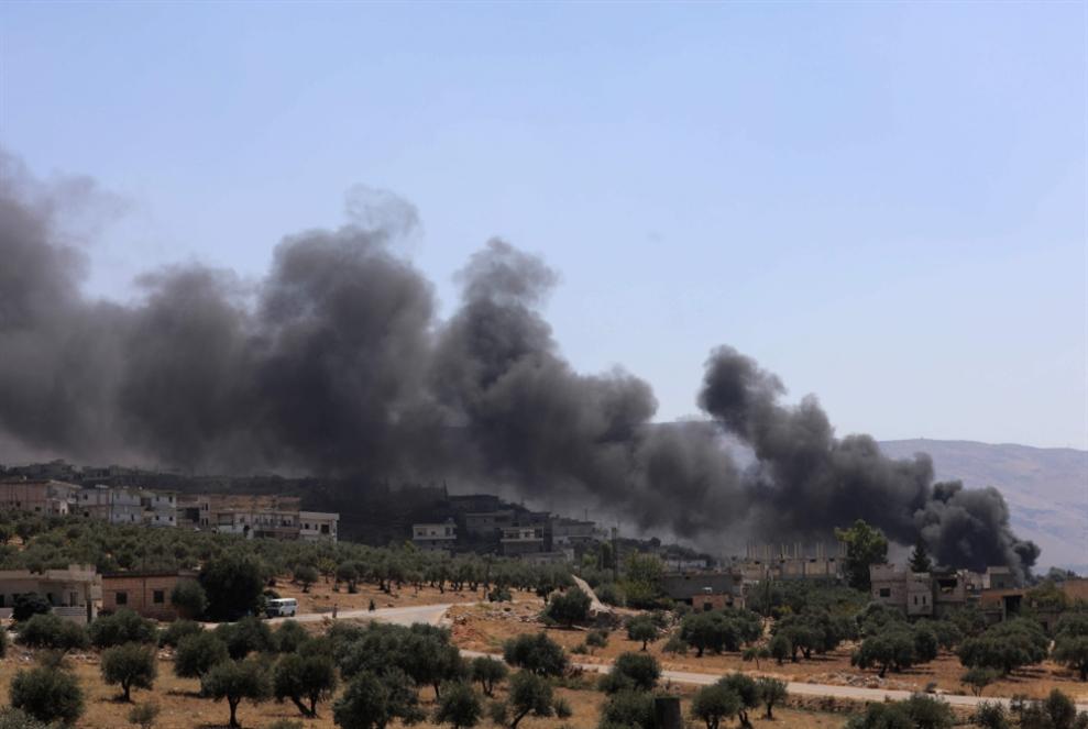 عدوان على سوريا: استهداف منشآت عسكرية للجيش