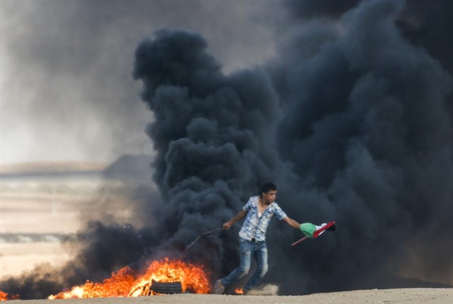 مسيرات العودة: شهيد في غزة