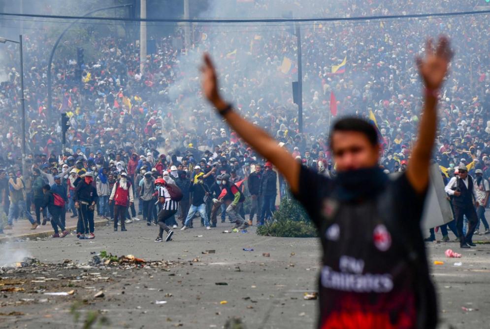 الإكوادور تثور ضدّ لينين