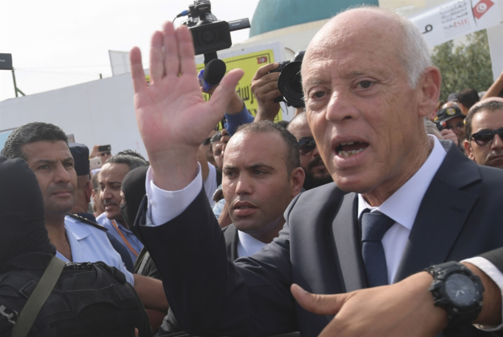 قيس سعيّد رئيساً لتونس بفارق كبير!