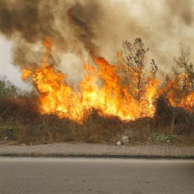 سلسلة حرائق تضرب لبنان والشوف نال النصيب الأكبر