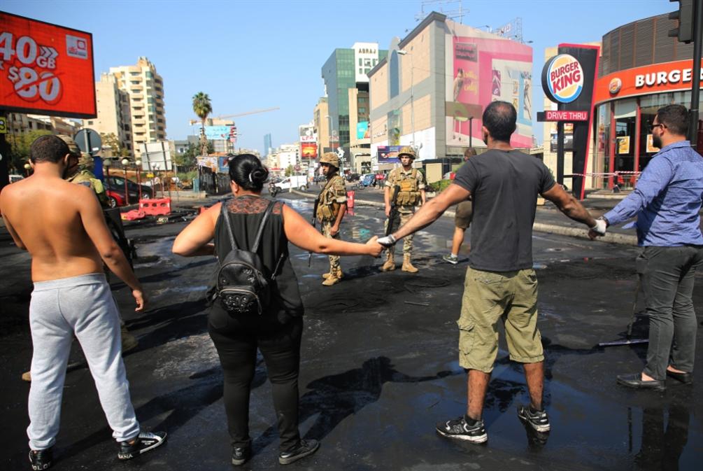 مفارقات تظاهر المسيحيين و«تضامن» الجيش