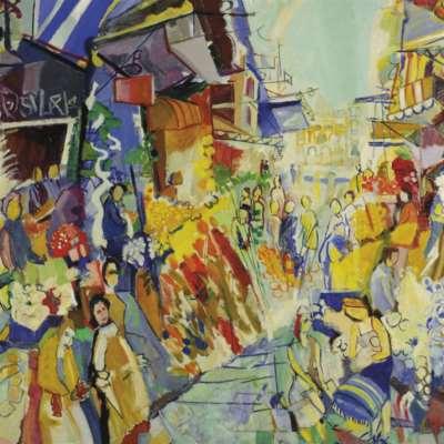 مقطعات للشوارع والساحات