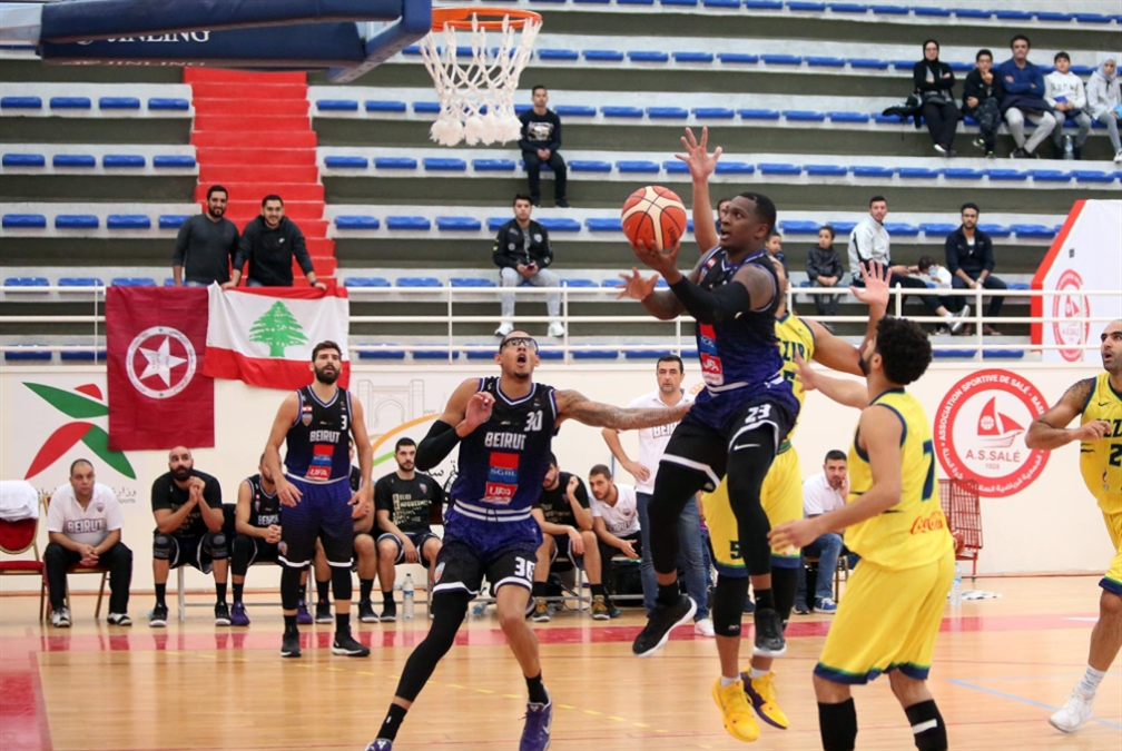 خسارة بيروت في البطولة العربية