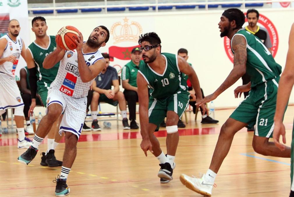بيروت في نصف نهائي البطولة العربية