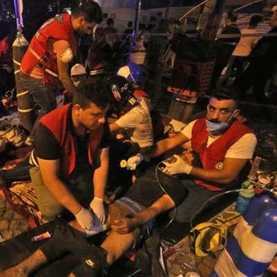 العراق: مئة شهيد و5000 جريح خلال أسبوع