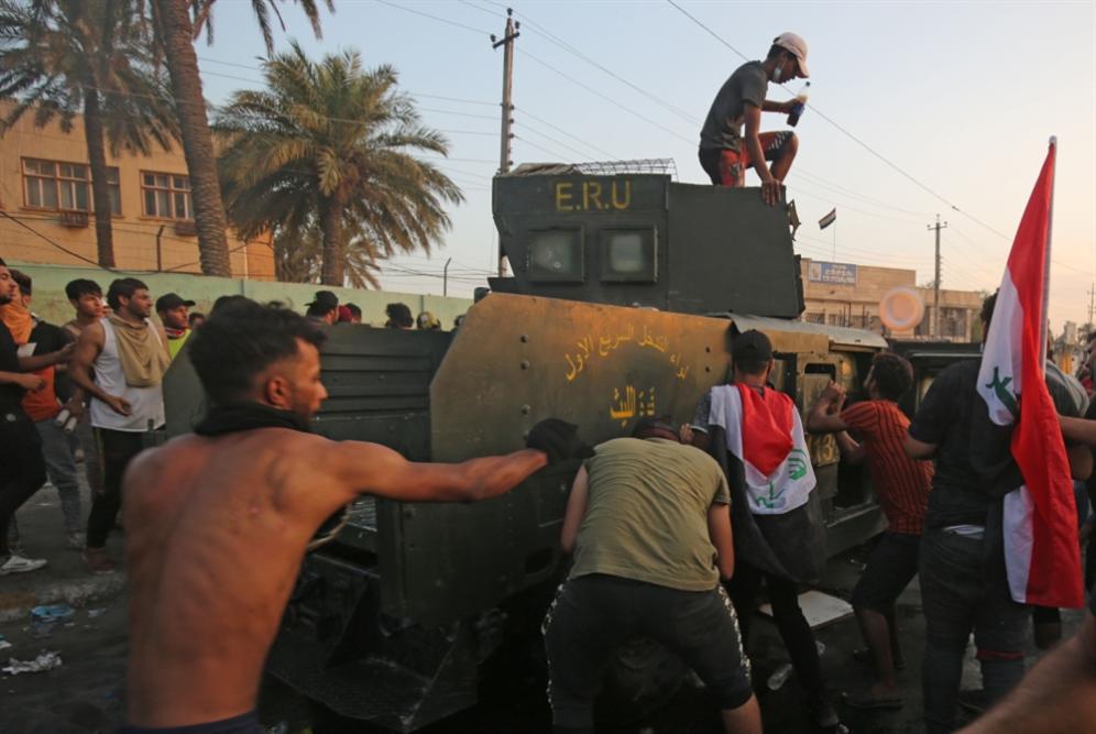 العراق: ضربة أولى لمخطط الانقلاب