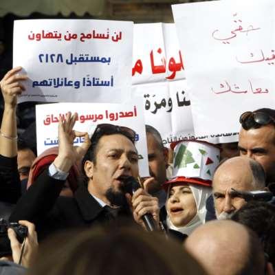 المتمرنون يبدأون إضرابهم رغم تهديدات حمادة