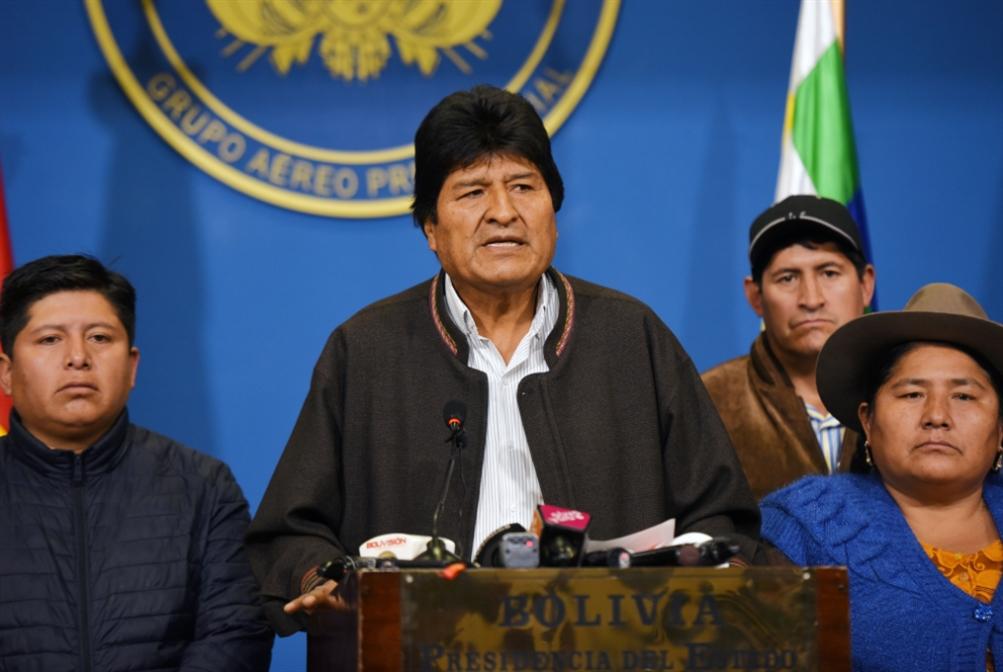 استقالة إيفو موراليس: معركتنا لم تنتهِ