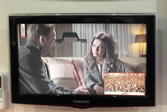 القنوات اللبنانية تصارع: الشاشة تقسم قسمين