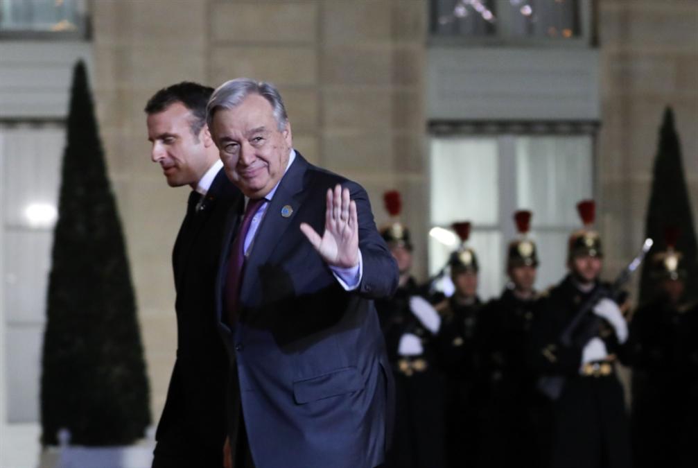 غوتيريش يعتبر «الجهاديين الأجانب» مسؤولية «دولية»