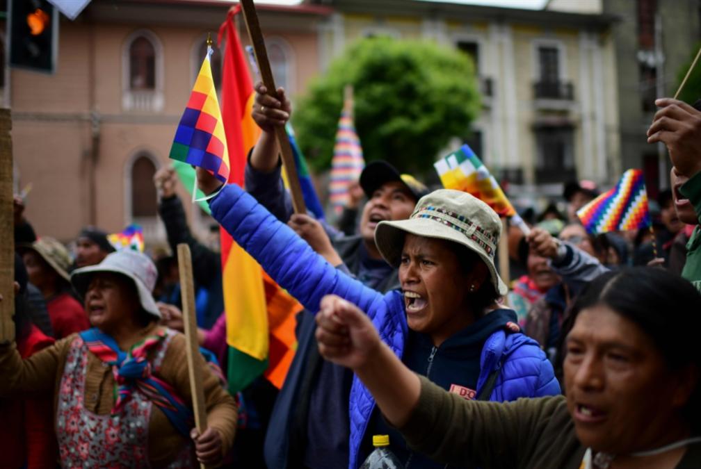 بوليفيا تدخل دوّامة الفوضى