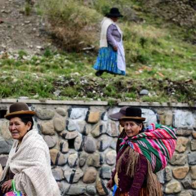 رئيسة انقلابية في بوليفيا